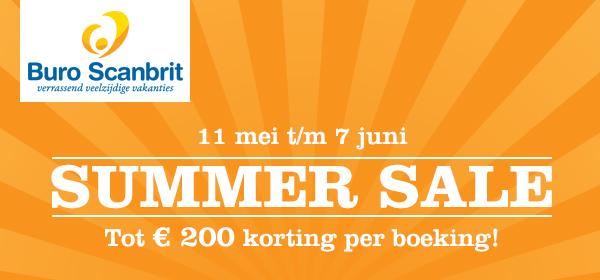 Summer Sale - tot 200 euro voordeel op uw vakantie