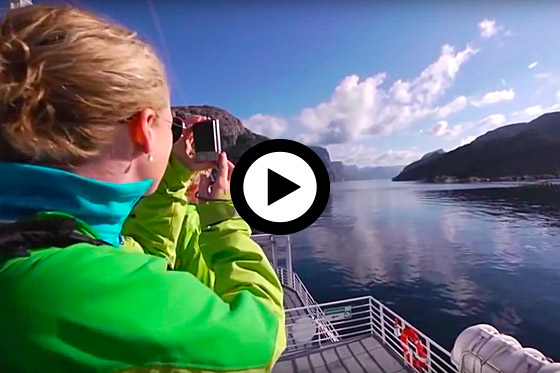 Een indruk van Fjord Noorwegen
