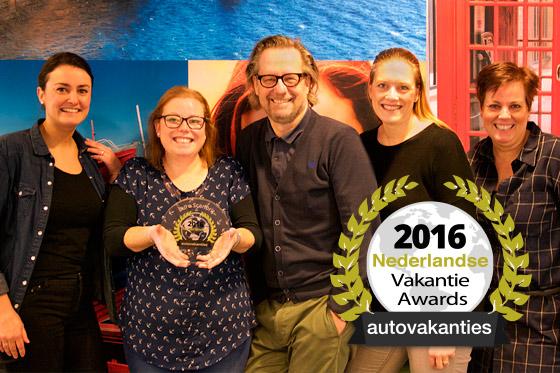 Winnaar Vakantie Award 2016