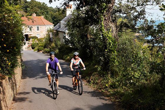 Blog: Jersey, vriendelijk fietseiland