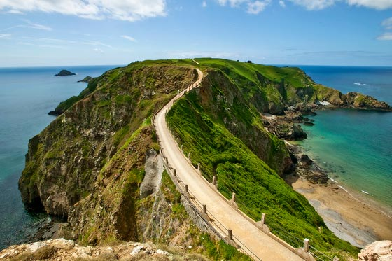 Blog: Op Sark is alles anders