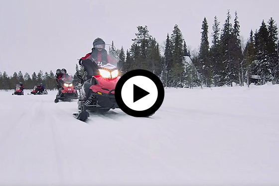 Winter Adventure in Fins Lapland