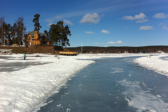 Blog: Winters avontuur in Midden-Zweden