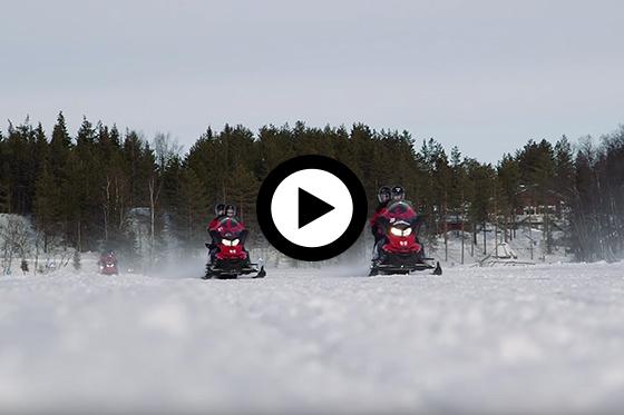 Winter in Fins Lapland: Levi
