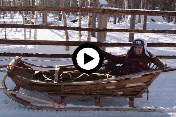 Winterse avonturen in Fins Lapland