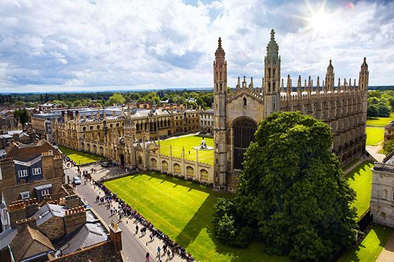 Win een weekendje naar Cambridge!
