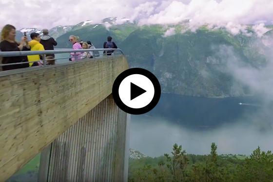 Vakantie in Noorwegen