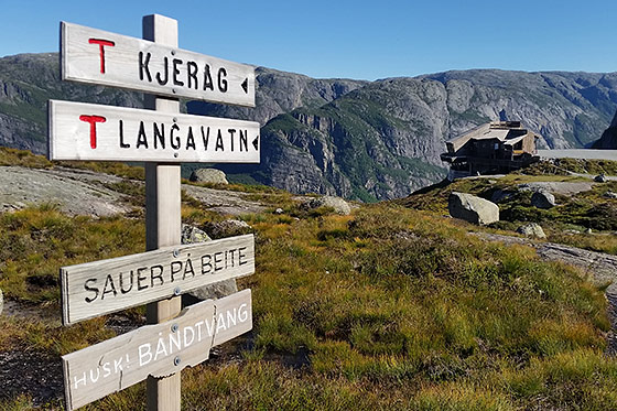 Blog: twee spectaculaire wandelingen in Noorwegen