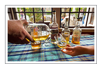 Whisky proeven in Schotland