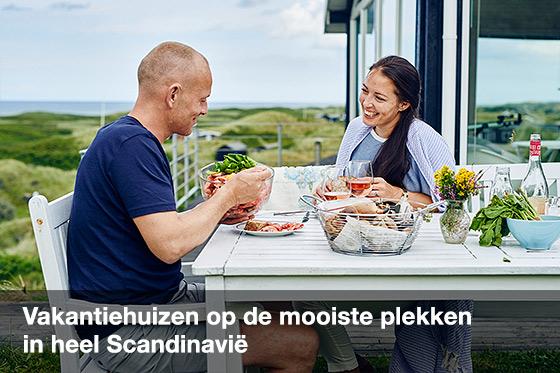 Ervaar de rust en ruimte in Scandinavië