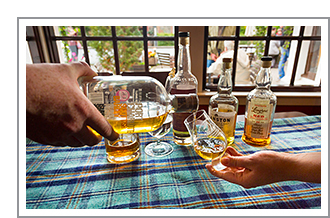 Whisky en Highlands