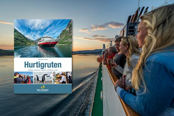 Nieuw! De Hurtigruten brochure is uit.