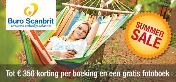 Ontvang tot € 350 korting op jouw zomervakantie