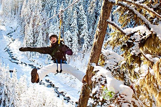 Ontdek de winterse excursies in Canada