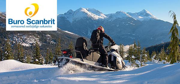 Nieuw bij Buro Scanbrit! Boek je wintervakantie naar Canada.