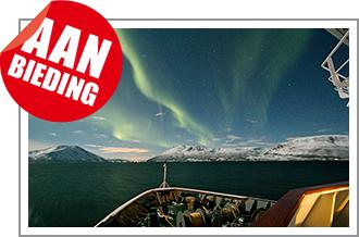 Vier de kerst met Hurtigruten