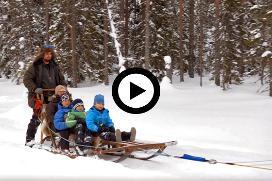 Familiepret in Zweden
