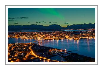 Noorderlicht in Tromsø