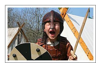 Als Vikingen door Denemarken