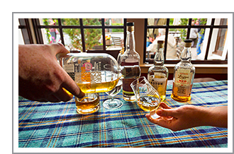 Whisky en Highlands