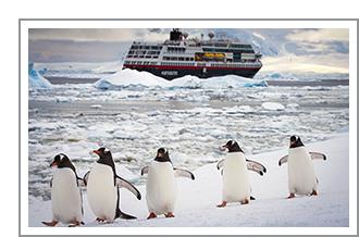 Antarctica, hoogtepunten van het bevroren continent