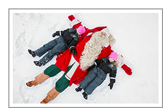 Family Adventure Winter Fairy Tale